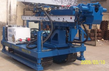 MDL-60C Water Power Station Crawler Drilling Rig , Multifunctional Drilling Rigs